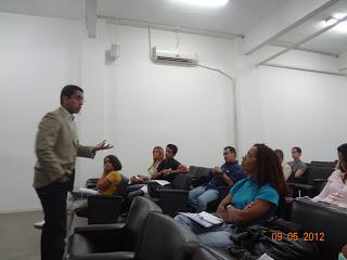 Palestra para alunos no Rio de Janeiro/RJ (2012)