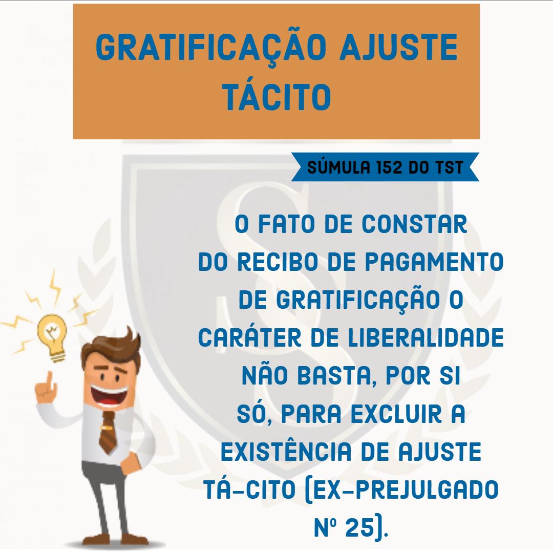 Gratificação Ajuste Tácito