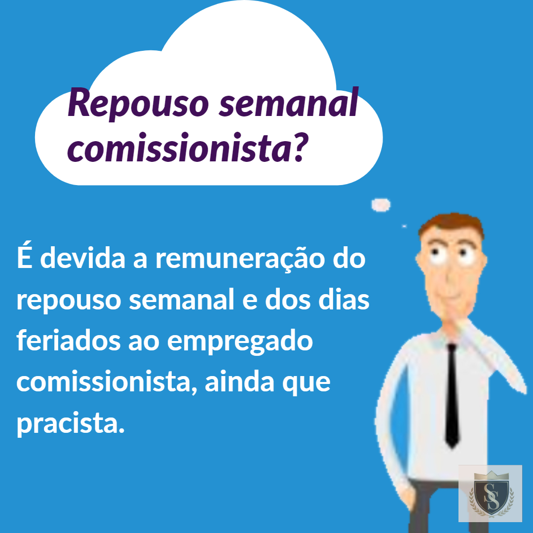 Repouso Semanal para Comissionista