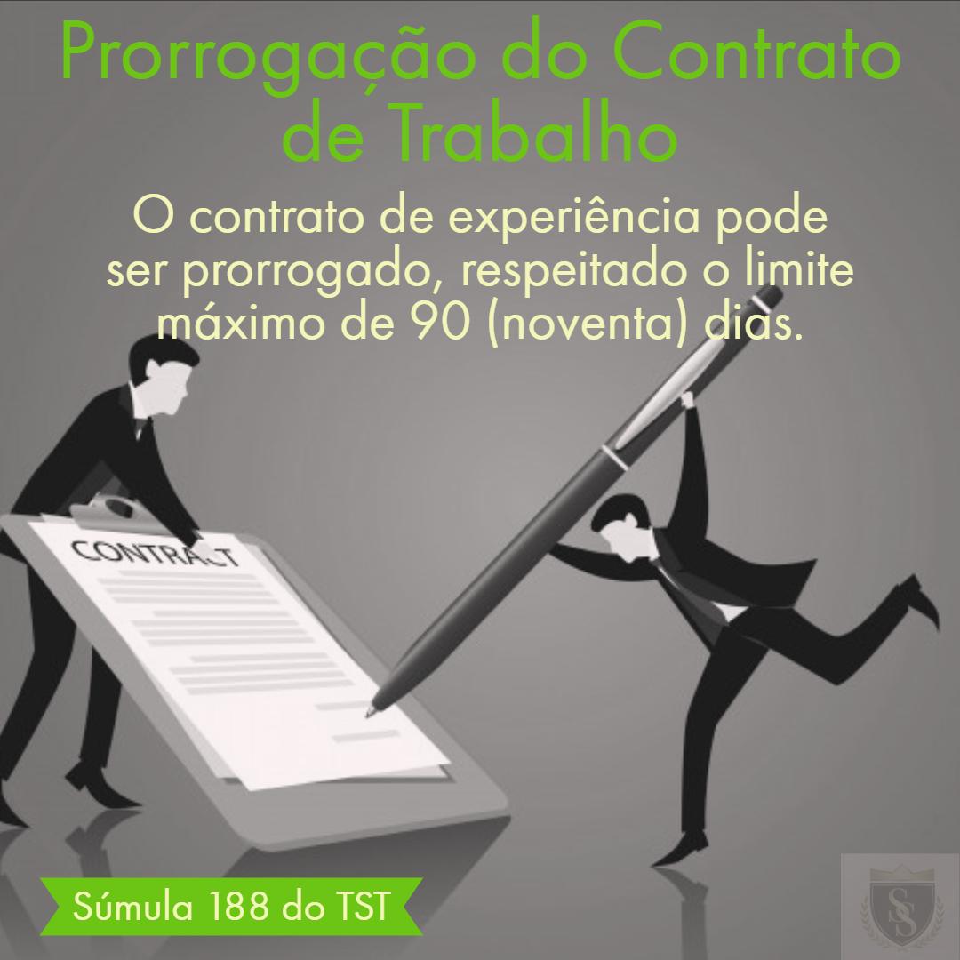 Prorrogação do Contrato de Trabalho