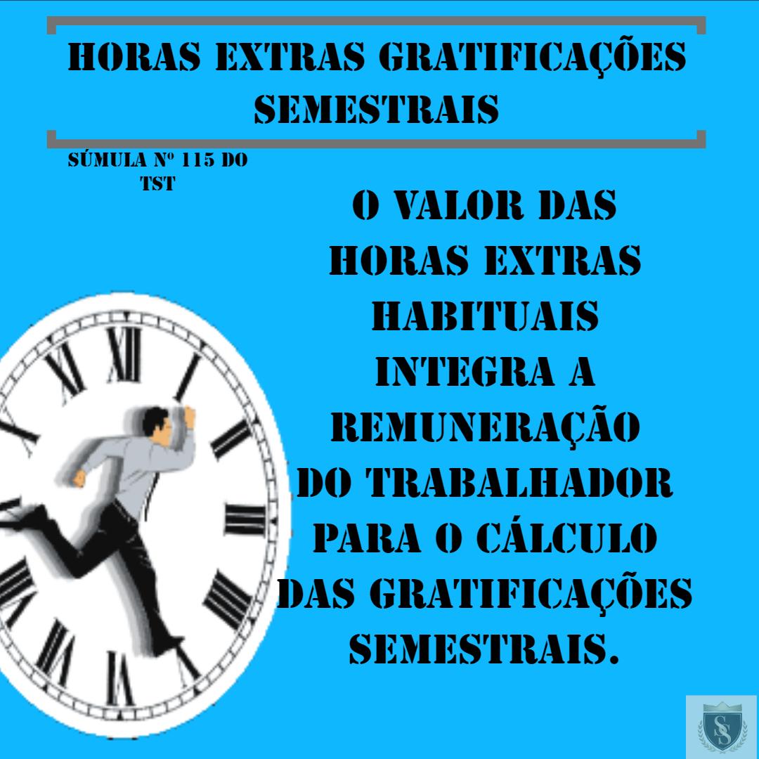 Horas Extras e Gratificações
