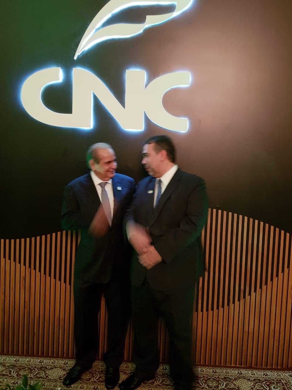 Presidente Tadros e Hugo Leão 2