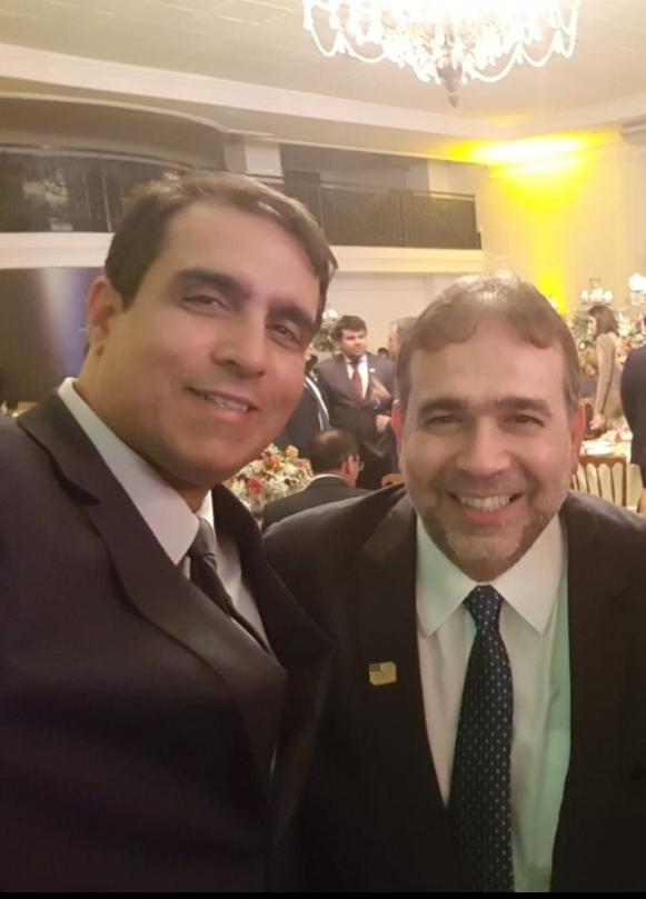 Cácito e Hugo Leão