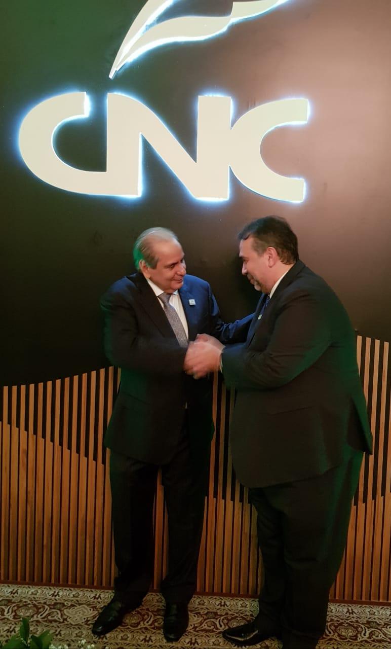 Presidente Tadros e Hugo Leão 1