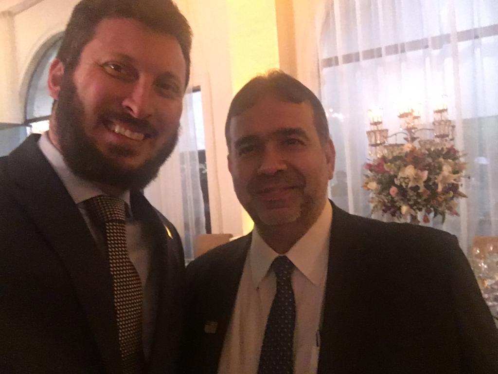 Diretor Regional Rodrigo Leite e Hugo Leão