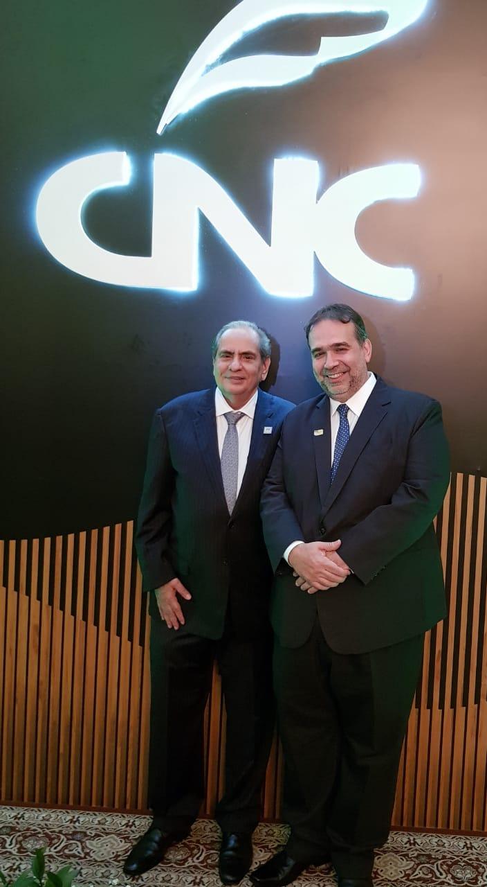José Roberto Tadros (Presidente da CNC) e o Dr Hugo Leão