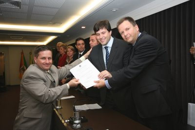 Posse na Comissão de Apoio ao Jovem Advogado do Rio Grande do Sul