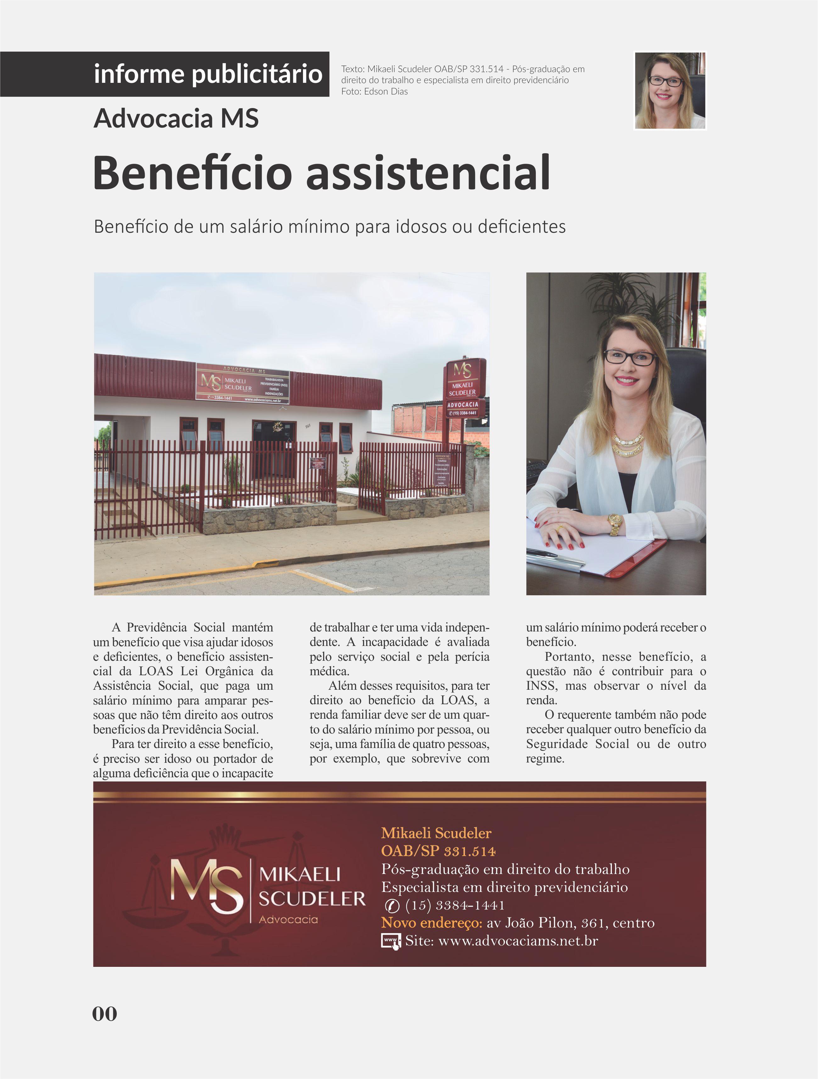 Matéria Revista Evidencia 2016