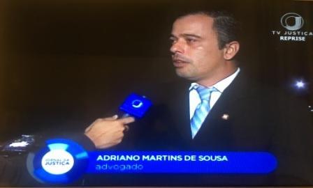 Entrevista na TV Justiça