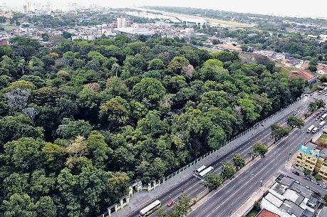 Jardim Botânico de Belém - Vista Aérea
