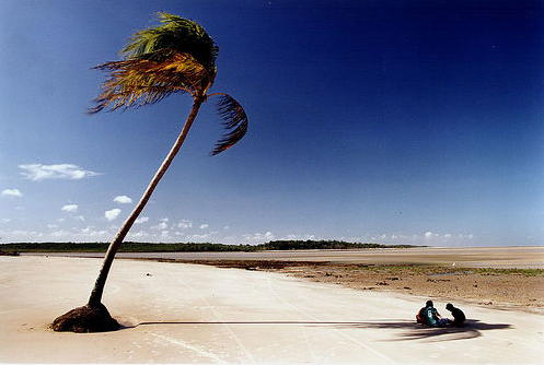 Praia de Rio - Ilha de Marajó
