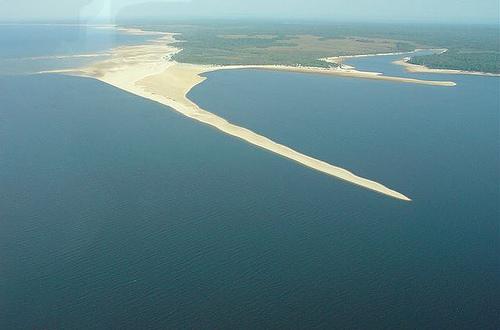 Banco de areia - Rio Tapajós